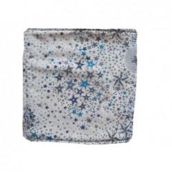 Lingette étoiles turquoises